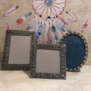 Sunflower Designs Silver Picture Frames